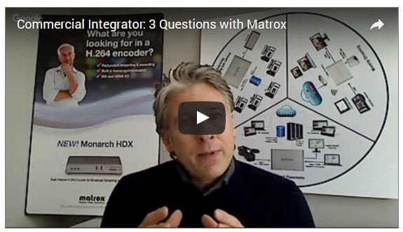 Why Matrox Monarch LCS Lecture Capture Should Be in Your Classroom