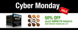 Boris Cyber Monday Specials - 50% OFF Select Products