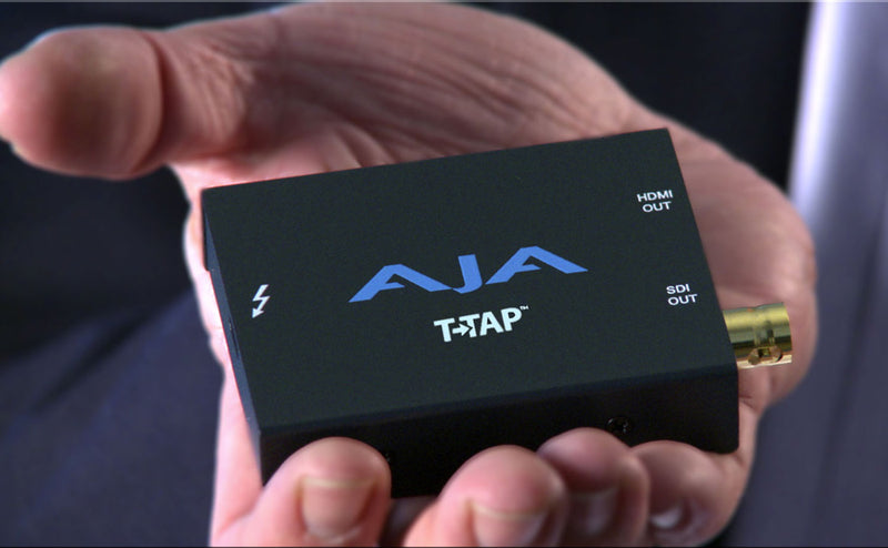 AJA T-Tap for Monitoring Video in Avid Pro Tools