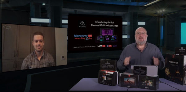 Introducing the Full Atomos HDR Product Range Videoguys News Day 2sDay LIVE Webinar