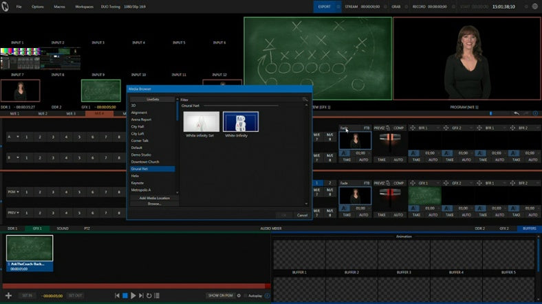 Nice Tutorial on Using Newtek TriCaster's M/E's For Compositing