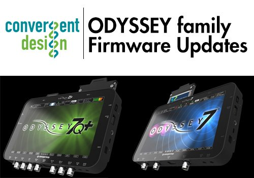 Convergent Design Releases Free Firmware Update v2015.11 for Odyssey Family