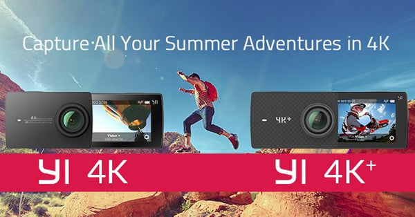 YI Technology 4K & 4K+ Action Cameras are here!