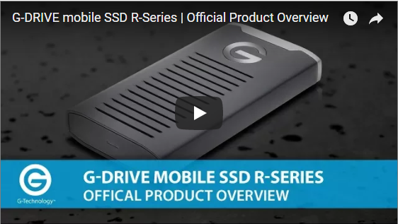 G-Tech G-DRIVE mobile SSD R-Series Video Overview