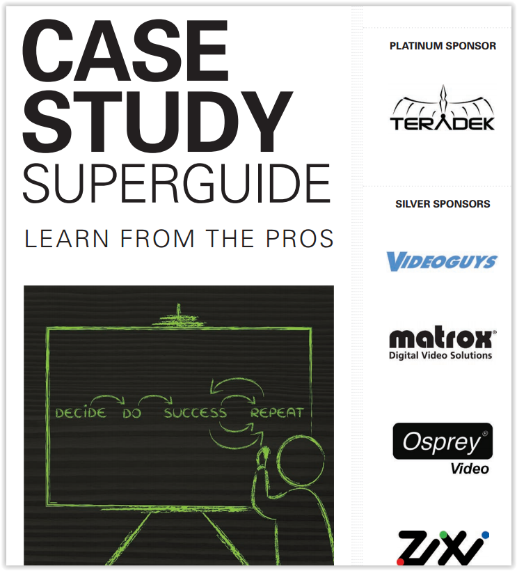 Streaming Media Case Study Superguide is here!