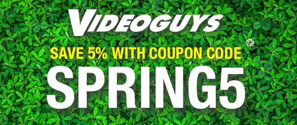 Videoguys Spring Sale Telestream, Grass Valley, & G-Tech!