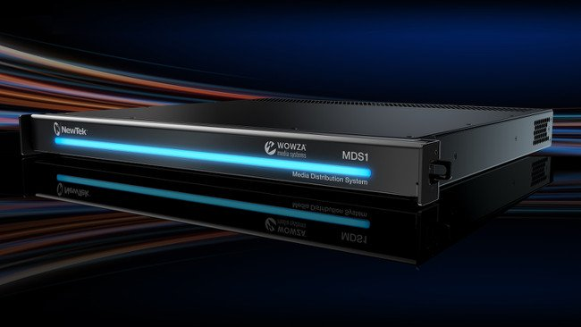 NewTek MediaDS (Media Distribution System) with Integrated Wowza Streaming Engine