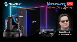 Introducing the NEW TriCaster Mini with Dr. Andrew Cross | Videoguys News Day 2sDay LIVE Webinar
