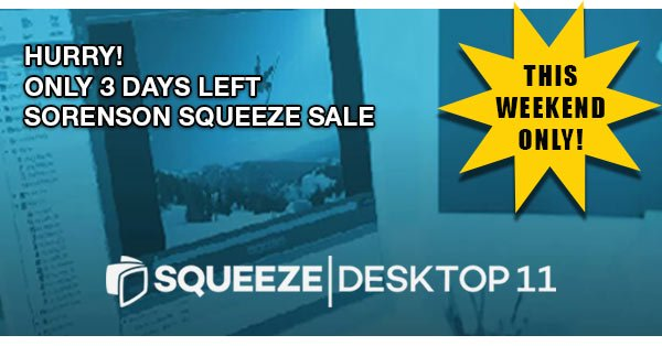 Hurry! 3 Days Left to Save on Sorenson Squeeze