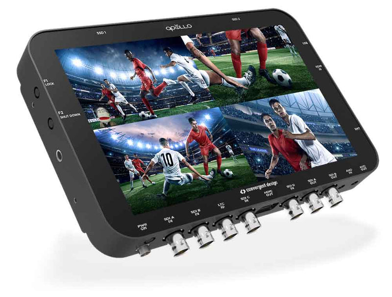 Announcing Convergent Design's Apollo Portable Multicamera Recorder/Switcher
