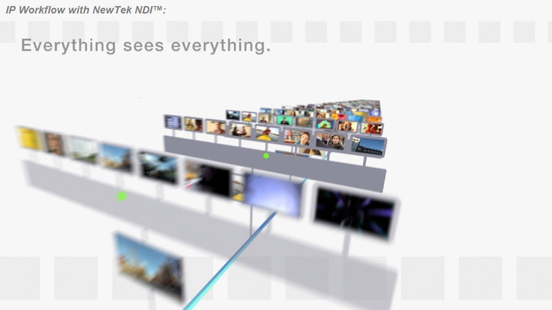 NewTek NDI IP Workflow Offers the Impossible to Video Production