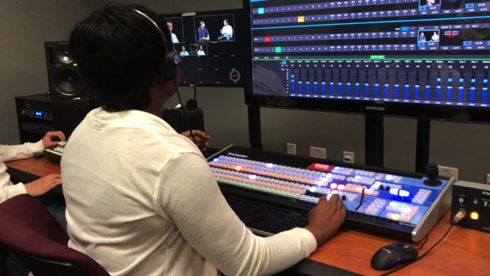 Newtek Helps Students Prepare For A Career Live Video Production