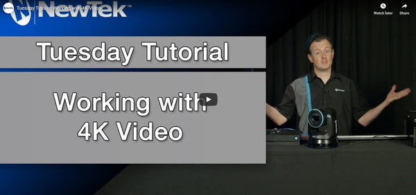NewTek TriCaster: How To Use 4K Video, NDI, and More