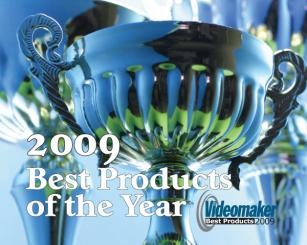 Videomaker's Best Video Products of the Year 2009