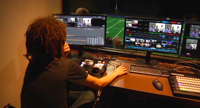 NewTek TriCaster User Story: Washington High School Connects with Community