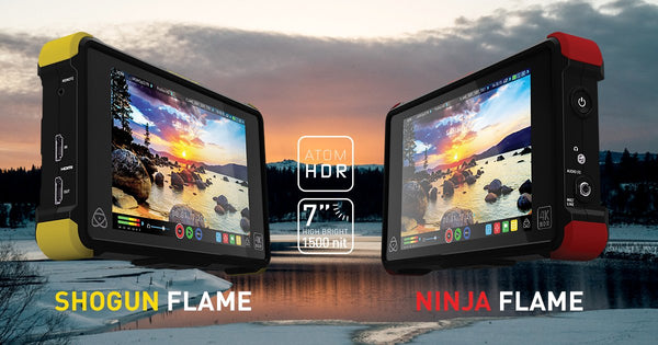 Studentfilmmakers Check out Atomos Ninja Flame and HDR Technology