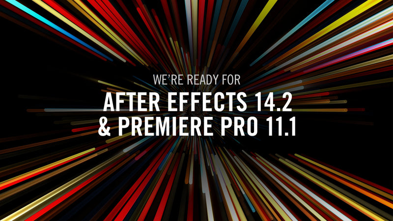 Red Giant Software Compatibility Updates for New Adobe After Effects CC and Premiere Pro CC