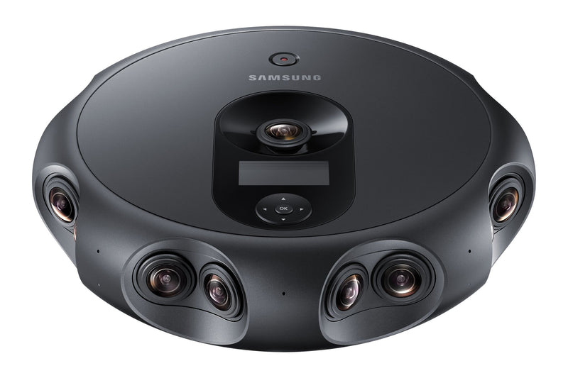 Samsung Launches 360 Round VR 3D Camera