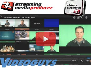 NewTek TriCaster Mini Turnkey HDMI Production Studio Tutorial From Streaming Media Producer and Videoguys.com