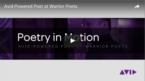 Warrior Poets Post Production Talks Avid Shared Storage