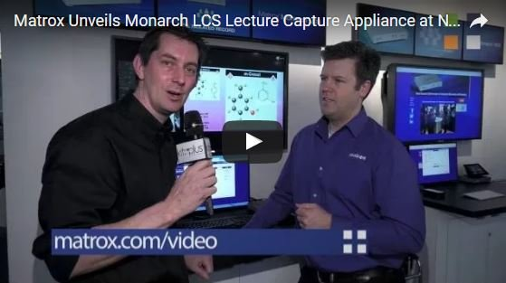 Video Highlight of Monarch LCS Lecture Capture from NAB2016