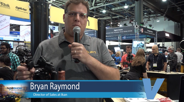 Ikan booth at NAB with Bryan Raymond