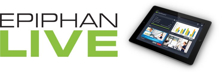 Epiphan Live -  Web Based Control Panel for Pearl-2