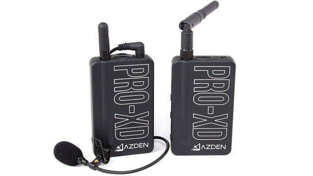 Unwrapping Azden Pro-XD Wireless Microphone System