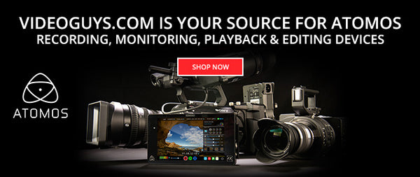 Atomos Recording, Monitoring, Playback and Editing Devices