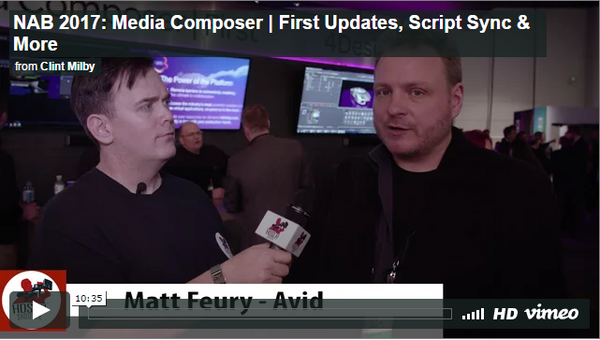 Avid Media Composer | First, Script Sync & More
