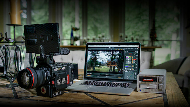 RedShark Looks at 8K Workflows with RED & G-Tech
