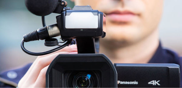 Panasonic AG-CX10 4K Handheld Camcorder with Live remote streaming