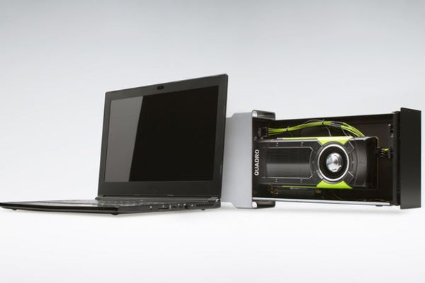 NVIDIA Announces External eGPU Acceleration for Video Editing on Laptops
