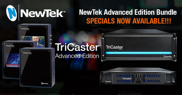 NewTek TriCaster Advanced Edition Special with TriCaster 460