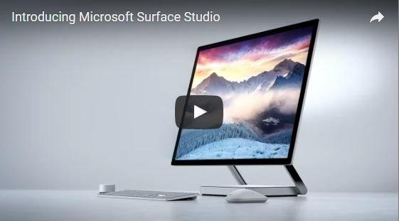 Microsoft's Beautiful Surface Studio Is Coming! - Finally a Windows version of iMac for video editors