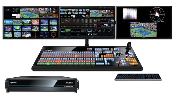 NewTek TriCaster TC1 Pushes the Boundaries of HD & 4K Production