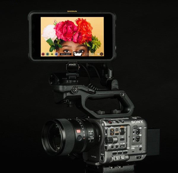 Atomos Announces Up to DCI 4Kp60 Full-Frame ProRes RAW Recording From Sony's FX6 Camera and Shogun 7