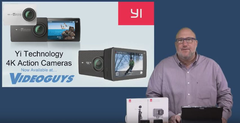 Videoguys Webinar:  Yi Technology 4K Action Cameras