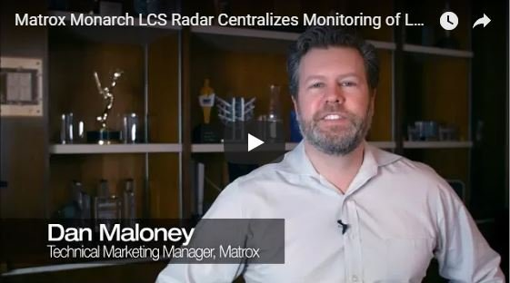 Matrox Monarch LCS Radar Centralizes Monitoring of LCS Appliances
