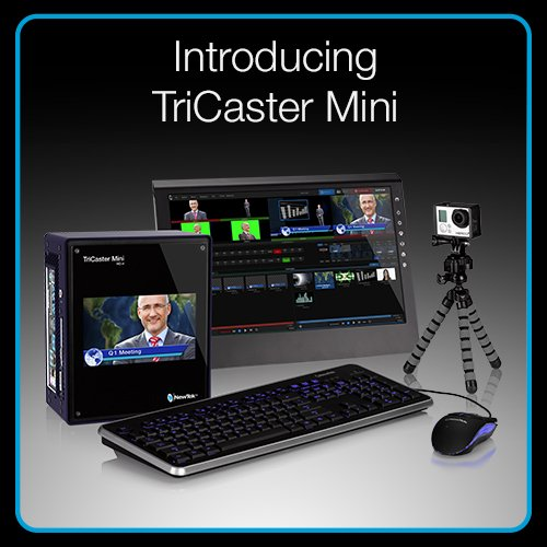 NewTek TriCaster Mini, 3Play Mini and Academic Specials
