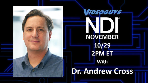 Dr. Andrew Cross and the State of NDI for NDI November