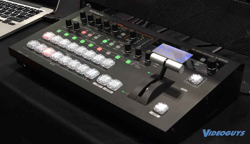Roland V-60HD Multi-Format Switcher Tested & Reviewed