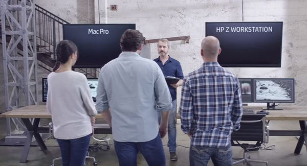 HP Z840 Workstation vs.  Mac Pro