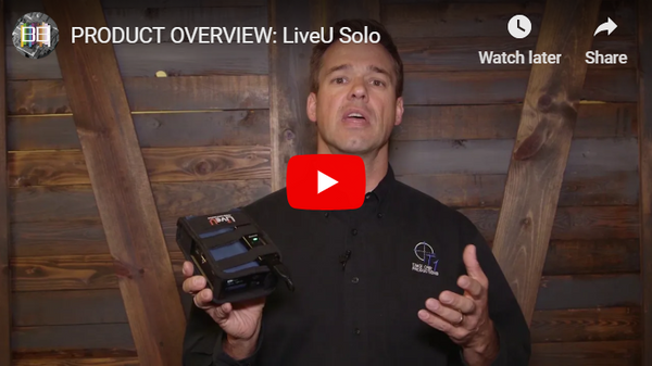 LiveU Solo Product Overview from Broadcast Beat