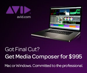 Avid at IBC 2011: Introducing New Ongoing Crossgrade Offer for Final Cut Pro Users Beginning Oct. 1, 2011