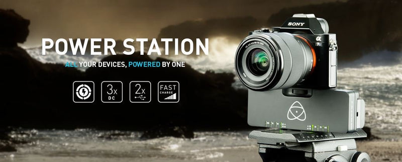 New at NAB: Atomos Power Station Delivers Continuous Power from May 2015