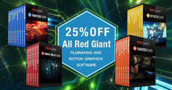 Red Giant 25% Off Sale - Extended 1 more day