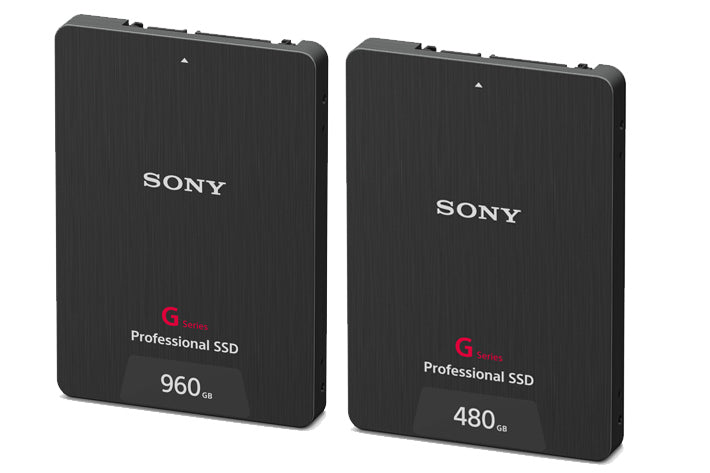 Sony new G Series Professional SSDs