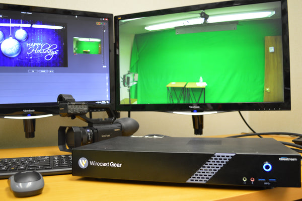 Videoguys DIY Live II: Wirecast Gear Edition for Setting Up a Live Production Studio