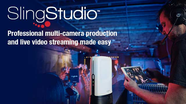 Introducing SlingStudio - Professional multi-camera production and live video streaming made easy